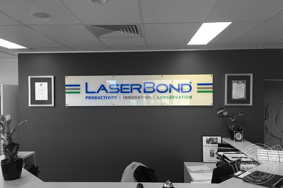 Townsend Signs Laser Bond Internal Office Signs