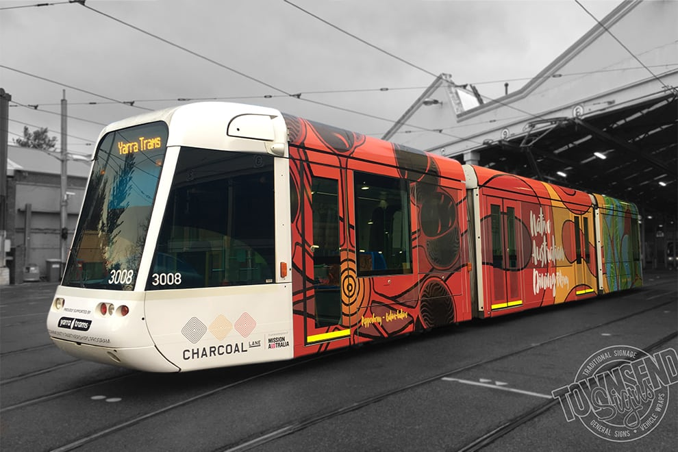 Townsend Signs Yarra Trams