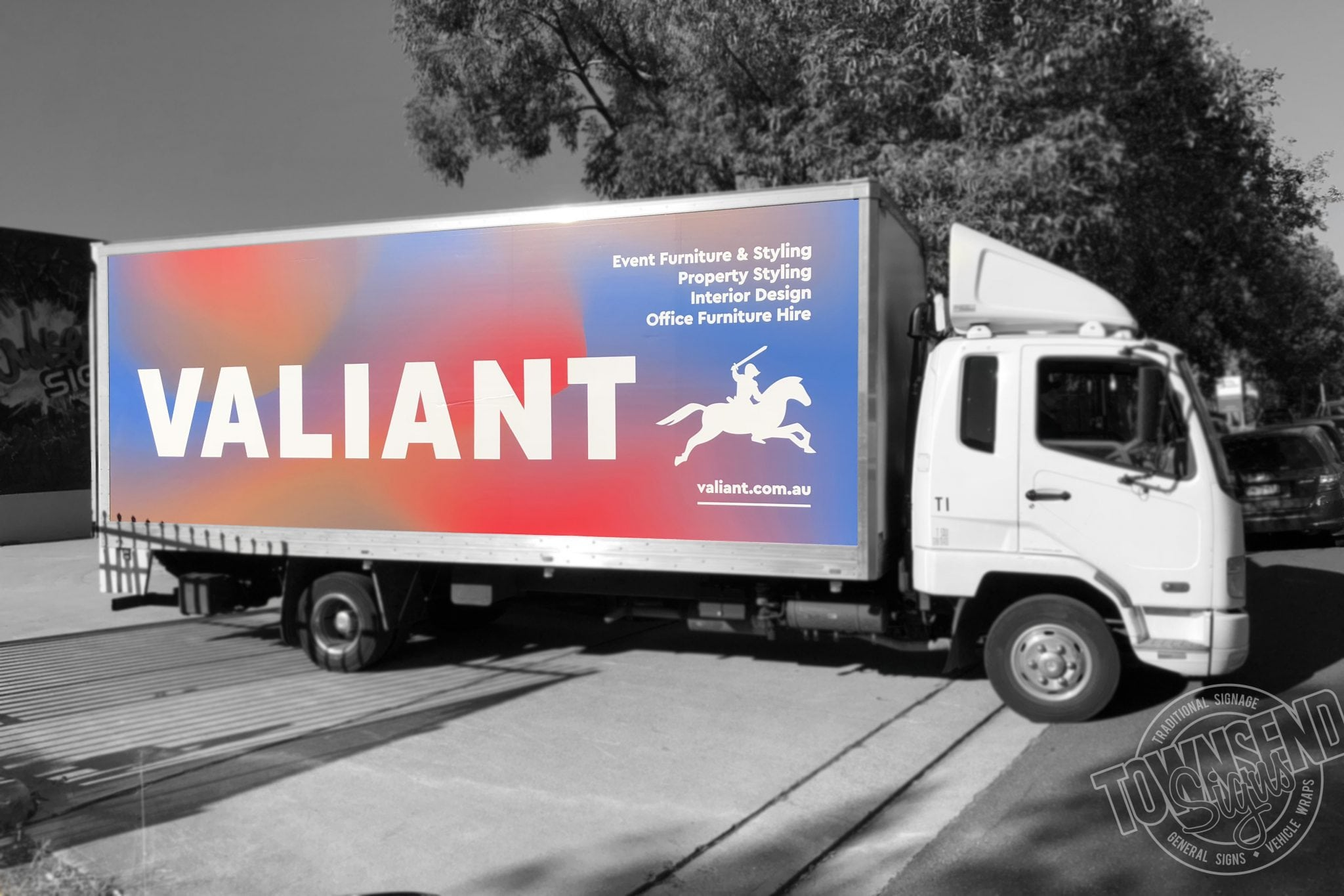 Valiant Truck Wrap