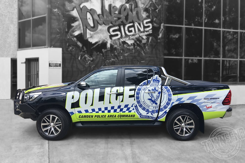 Townsend Signs Police Area Command Vehicle